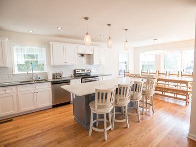 Photo for 5 Bed 5 Bath Beautiful Brand NEW home, water views, walk beach and more