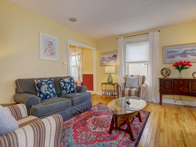 Photo for New Listing! Lovely In-town Bar Harbor Gem with Parking!