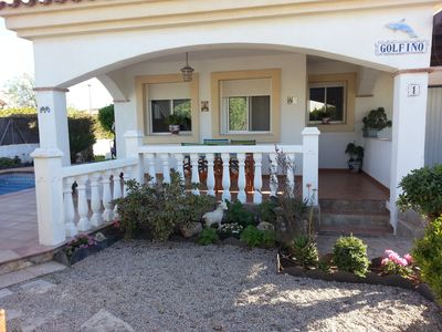 Photo for Beautiful villa 30 m. beach, cozy and with charm
