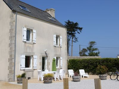 Photo for Beautiful 6 person cottage, located in Roscoff, near the thalasso