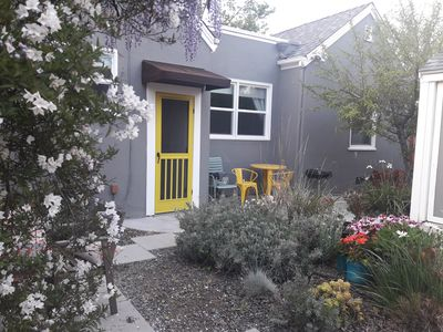Photo for Garden Sanctuary Downtown San Jose HOUSE w/ yard  2 Bicycles included