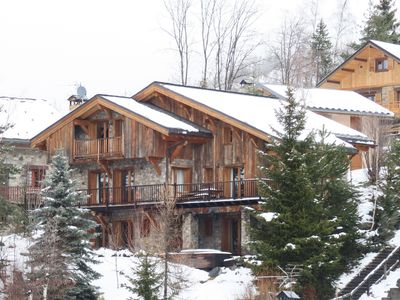 Photo for Family Chalet in St Martin de Belleville, 3 Valleys, 5 min walk from the slopes