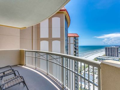 Photo for New to Rental! 27th Floor Ocean View Condo in the Margate Tower at Kingston Plantation