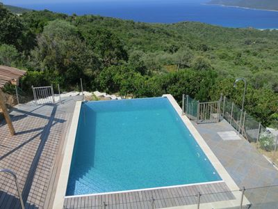 Photo for Apartment 4 to 5 people with pool access sea view South Corsica