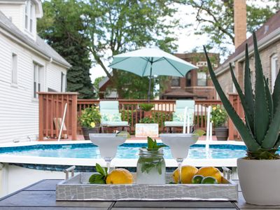 Photo for NEW Private Pool Paradise - Chicago Resort Home