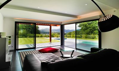 Photo for Contemporary Basque house, heated pool, 5 minutes from St Jean de Luz