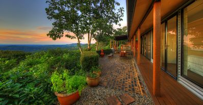 Photo for Montville Rustic Remingtons Lodge - Million Dollar View over hinterland & beyond
