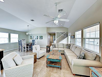 "Photo for New Listing! ""Popsicle Stix"" - Posh Home w/ Pool - 2 Miles to Beach"