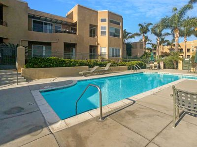 Photo for Carlsbad Condo with AC, just 1 mile from the beach