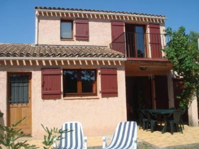 Photo for Tourrettes: Tourrettes (Var): villa due south with swimming pool and tennis