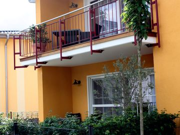 modern apartment, incl. Sauna in the house and paddle boat use, Wi-Fi for free - Wohnung Magnolia