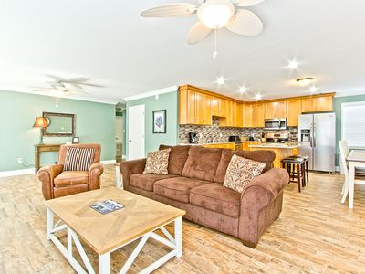 Photo for Newly Furnished and Renovated 3 Bedroom Vacation Rental Located Only 200 Yards To The Beach
