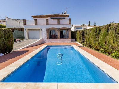 Photo for Family&Pet Friendly Luxury Villa with Private Pool. 200 metres from the Beach!!