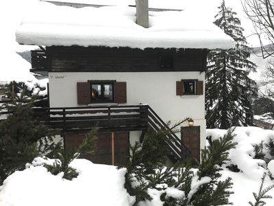 Photo for Chalet Isard Megeve, near slopes and center, open view, 5 bedrooms