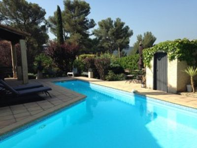 Photo for Nice house with swimming pool close to Aix-en-Provence