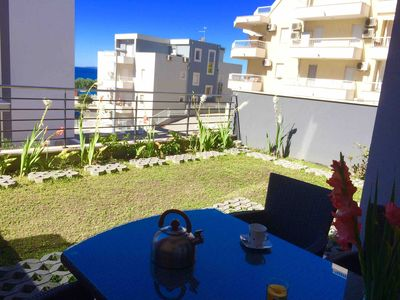 Photo for A Beachfront Cosy Place With Garden And Sea View