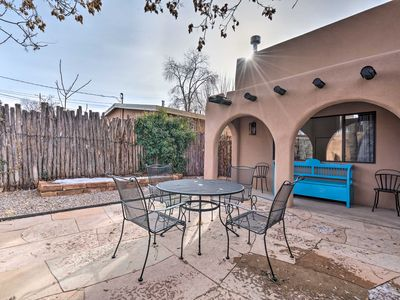 Photo for Adobe House w/ Patio - Walk to Dtwn Plaza & Shops!