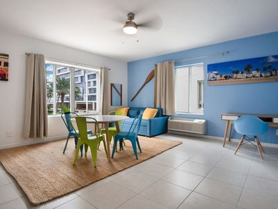 Photo for LOVELY 1 BEDROOM Right next to the Beach ! Up to 4 People