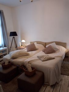 Photo for Myrio 2/3 pers apartment in the spa center close to the thermal baths and shops