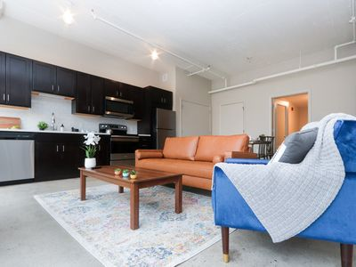 Photo for Industrial Spacious 1Br Apartment - Downtown