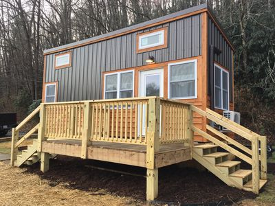 Photo for Tiny House with New River View 15 Minutes from Boone!