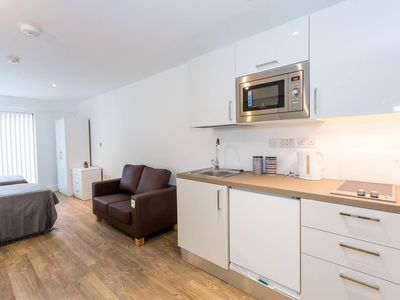 Photo for Spacious studio apartment in the heart of Oldham