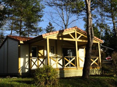 Photo for Camping Le Moulin **** - Prestige Chalet 3 rooms 5/6 people