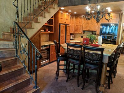 Photo for Gorgeous Tuscan villa themed home in the heart of Oak Creek Canyon