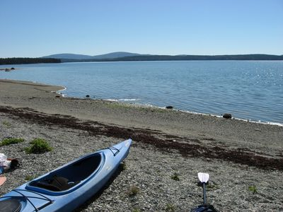 At NortherNest you'll enjoy one of the finest beaches & views in Downeast Maine.