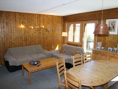 Photo for Large 3* duplex apartment with 3 bedrooms for 6 people located at the bottom of the slopes. Living r