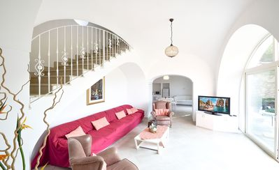 Photo for Breathtaking, luminous three-story villa with Jacuzzi and private parking