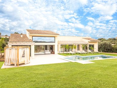 Photo for Fantastic new built Finca with lots of comfort between Muro and Can Picafort