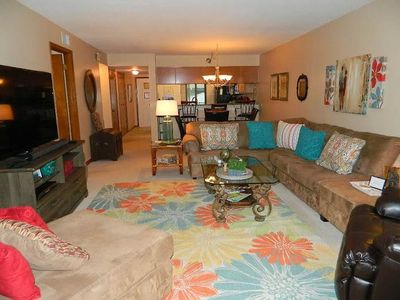 Photo for FALL SPECIAL PRICES!! Ocean View Steps From Beach! 60''TV, Free WiFi & Movies
