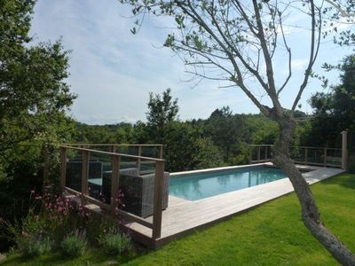 Photo for Arcangues near Biarritz. Villa with magnificent views of the Pyrenees.