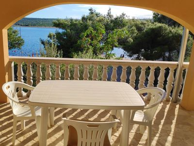 Photo for On the beach in Crna Punta - the ideal place for family vacation in Zadar