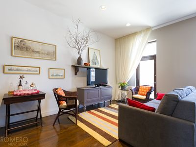 Photo for Long Island City: Private L.I.C. LUXE Apartment & Garden in Historic Firehouse