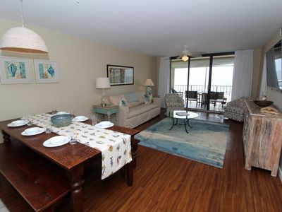 Photo for Summerchase 204-Beach Front Views from Terrace with Luxurious Interior!