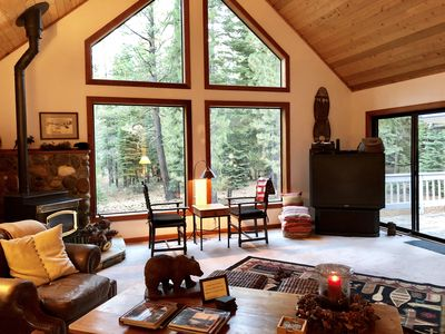 Photo for SPECIAL LABOR DAY FAMILY RATE! PEACEFUL SERENE FORESTED LOCATION