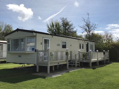 Photo for Butlins Skegness private 4 bedroom caravan