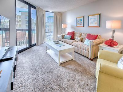 Photo for 2nd Floor Lovely Condo, Splash pad w/ multiple pools & hot tub