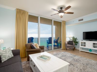 Photo for Take In the Sounds & Sights of the Beach from this Condo's Gulf Front Balcony