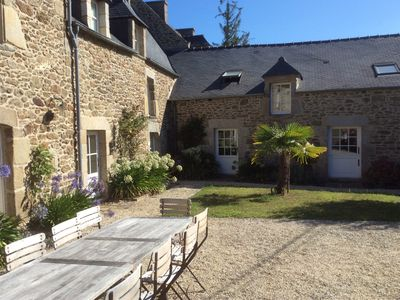Photo for Large house of character / 17th CENTURY FRENCH FARMHOUSE IN BRITTANY, FRANCE