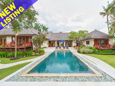 Photo for Awali, 4 Bedroom Family Villa+Playground in Canggu