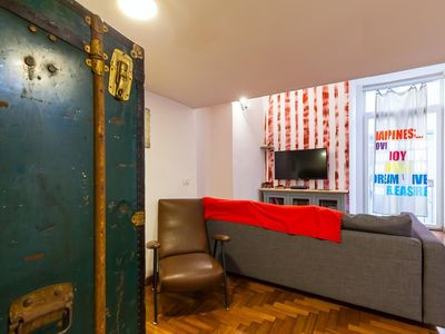 Photo for Apartment 108 m from the center of Naples with Internet, Air conditioning, Washing machine (914426)