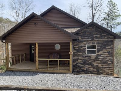 Photo for SHINE ON -log cabin close to all attractions