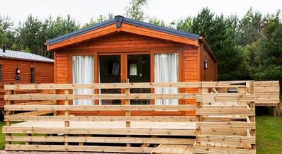 Photo for Maple Lodge -  Dog Friendly, Hot tub Lodge in the heart of Northumberland