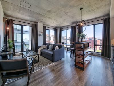 Photo for Stunning View 2 Bedroom Luxury Old Montreal + Parking