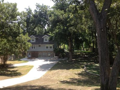 Photo for Must See Guadalupe Riverfront Home (2 Br+sleeping Loft, 3 Ba) On Wooded Lot
