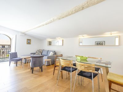 Photo for Home Sweet Home 23: 2 bedrooms on the Place Nationale , up to 8 people