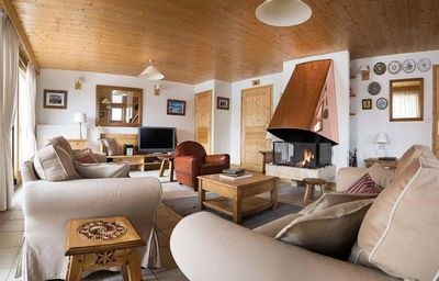 Photo for Chalet la Fenière: Charming chalet with all fittings